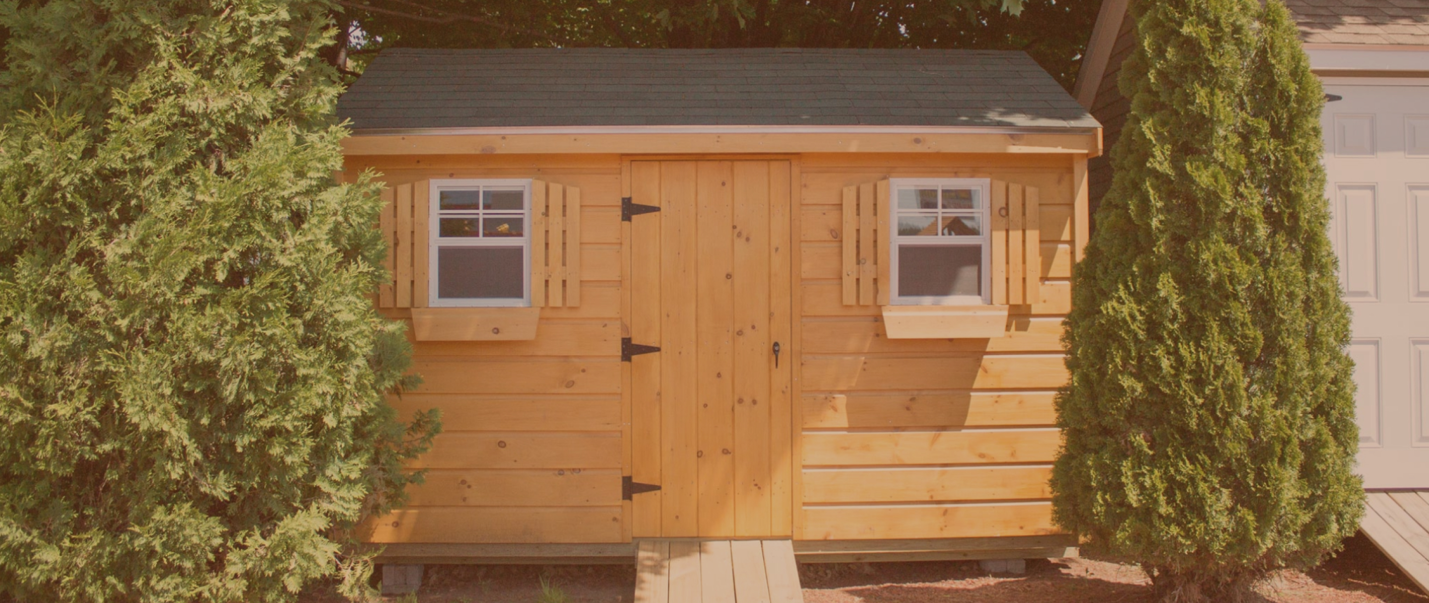 Photo of a shed, taken near our Portsmouth, NH marketing agency