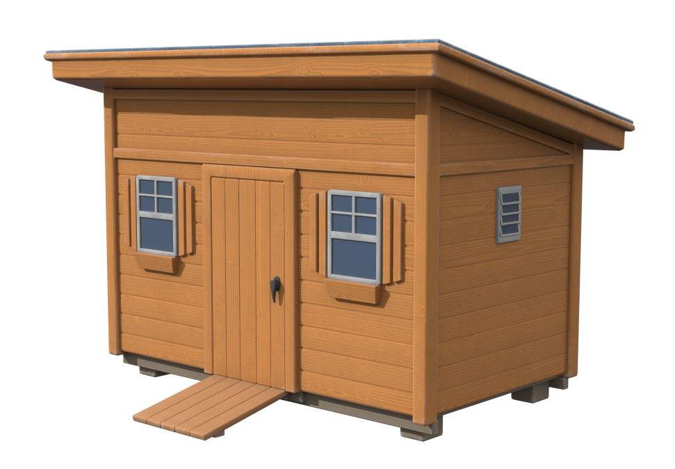 3D modelling of design for New England shed company